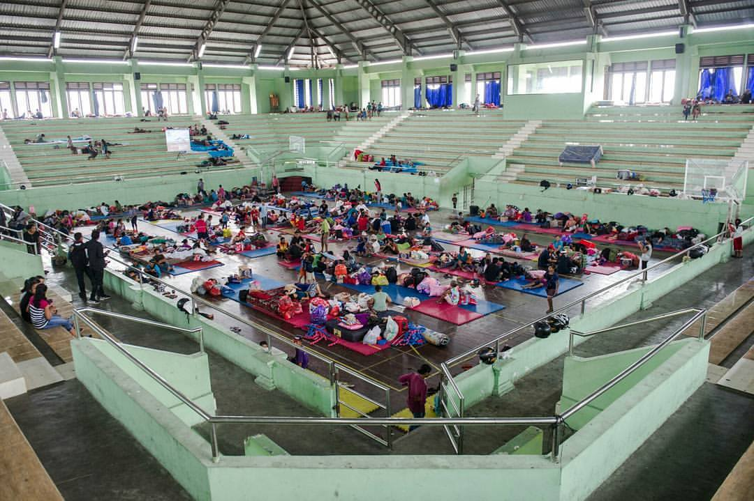 mount agung evacuation bali
