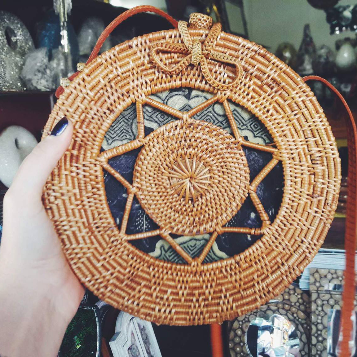 Market Finds The Rattan Roundie Bag Ubudhood