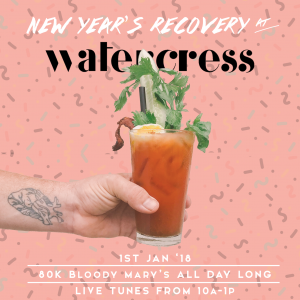 New Year's Day Recovery @ Watercress Ubud | Bali | Indonesia