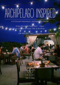 Archipelago Inspired Dinner @ Copper Kitchen   Bali   Indonesia