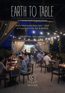 Earth to Table Dinner @ Copper Kitchen   Bali   Indonesia