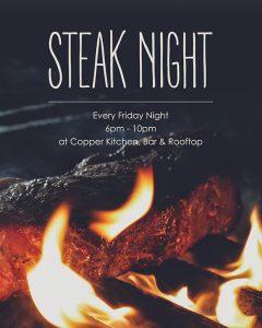 Steak Night @ Copper Kitchen | Bali | Indonesia